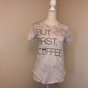 Freeze Coffee Graphic T-Shirt Size M